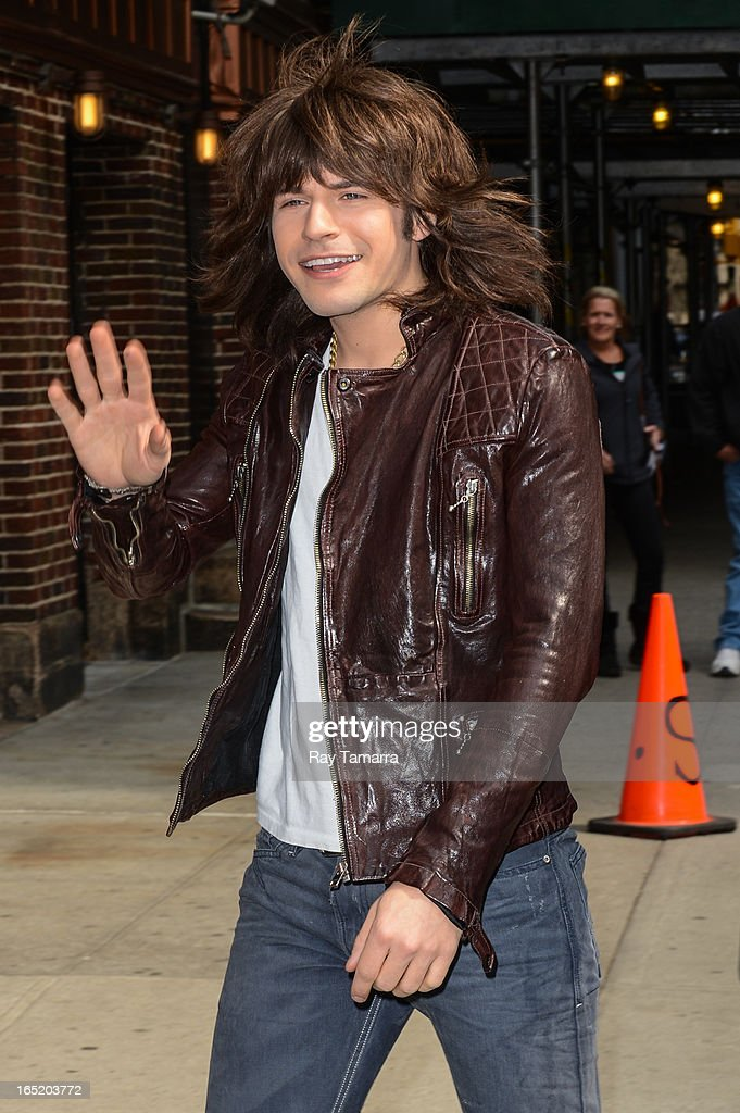 Musician Reid Perry of The Band Perry enters the 'Late Show With David Letterman' taping at the Ed Sullivan Theater on April 1, 2013 in New York City.
