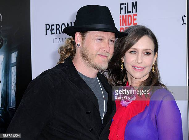 Musician Renn Hawkey and actress Vera Farmiga attend 2016 Los Angeles Film Festival 'The Conjuring 2' premiere at TCL Chinese Theatre IMAX on June 7...