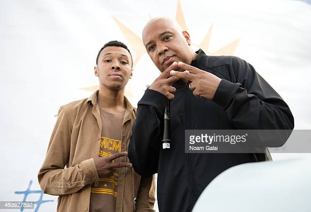 Musician Rev Run attends The Summer Of Jeep at South Street Seaport on August 21 2014 in New York City