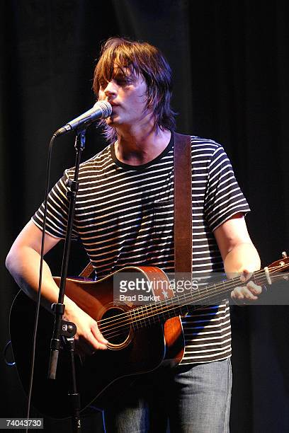 Musician Rhett Miller at the ASCAP Tribeca Music Lounge held at the Canal Room during the 2007 Tribeca Film Festival on May 1 2007 in New York City