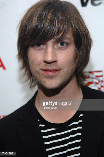 Musician Rhett Miller poses at the ASCAP Tribeca Music Lounge held at the Canal Room during the 2007 Tribeca Film Festival on May 1 2007 in New York...
