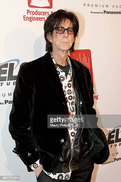 Musician Ric Ocasek attends the Eighth Annual GRAMMY week event honoring three-time GRAMMY Winner Nile Rodgers, hosted by the The Recording Academy...