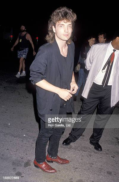 Musician Richard Marx attends the Sixth Annual MTV Video Music Awards on September 6 1989 at Universal Amphitheatre in Universal City California