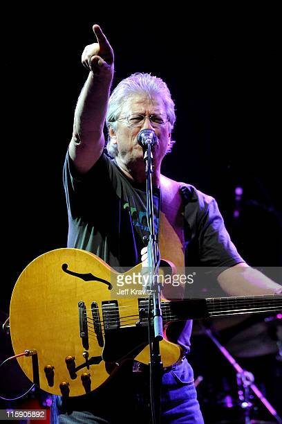 Musician Richie Furay of Buffalo Springfield performs on stage during Bonnaroo 2011 at Which Stage on June 11 2011 in Manchester Tennessee