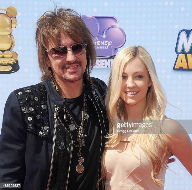 Musician Richie Sambora and daughter Ava Sambora arrive at the 2014 Radio Disney Music Awards at Nokia Theatre L.A. Live on April 26, 2014 in Los...