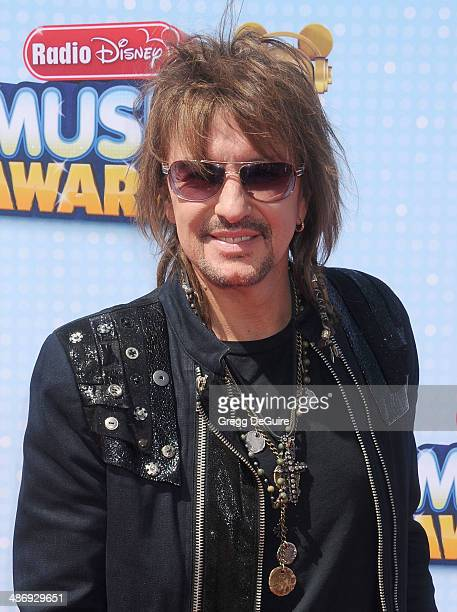 Musician Richie Sambora arrives at the 2014 Radio Disney Music Awards at Nokia Theatre LA Live on April 26 2014 in Los Angeles California