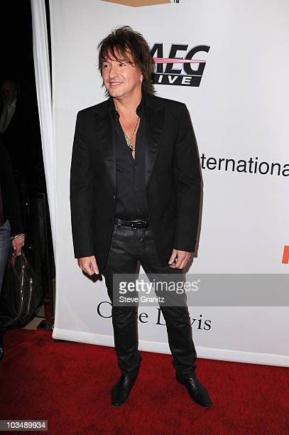 Musician Richie Sambora arrives at the 52nd Annual GRAMMY Awards Salute To Icons Honoring Doug Morris held at The Beverly Hilton Hotel on January 30...