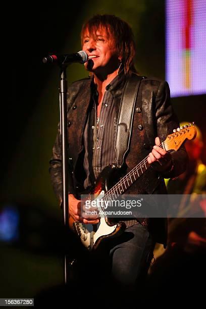 Musician Richie Sambora performs at The Fonda Theatre on November 13 2012 in Los Angeles California