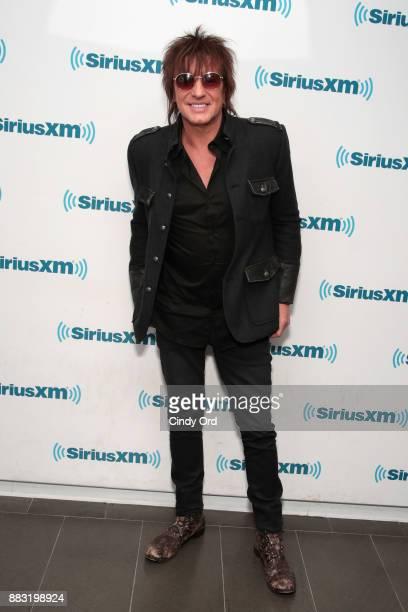 Musician Richie Sambora visits the SiriusXM Studios on November 30 2017 in New York City