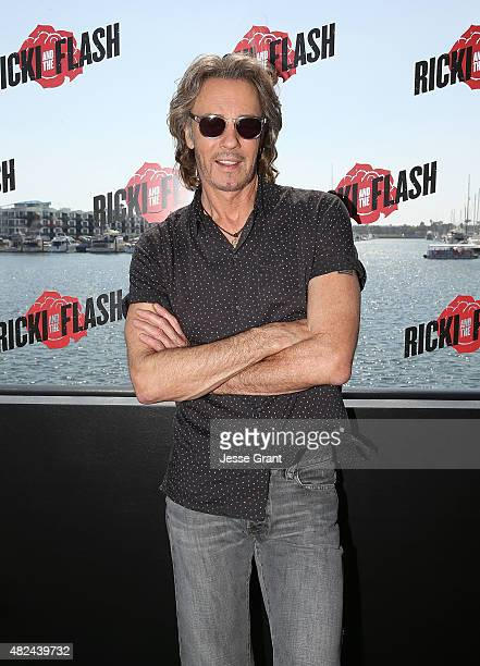 Musician Rick Spingfield attends the Rick Springfield Rocks The Boat For Ricki and the Flash event on July 30 2015 in Marina del Rey California