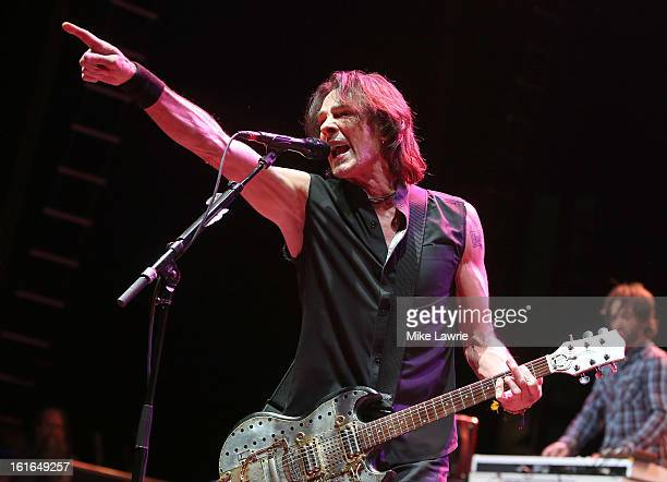 Musician Rick Springfield of the Sound City Players performs at Hammerstein Ballroom on February 13, 2013 in New York City.