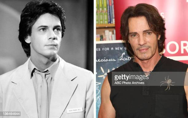 In this composite image a comparison has been made of actor Rick Springfield Many of today's leading Hollywood stars began their careers in daytime...