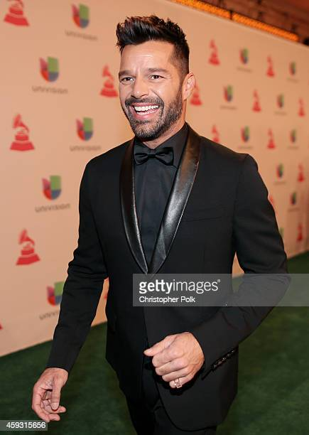 Musician Ricky Martin attends the 15th Annual Latin GRAMMY Awards at the MGM Grand Garden Arena on November 20 2014 in Las Vegas Nevada