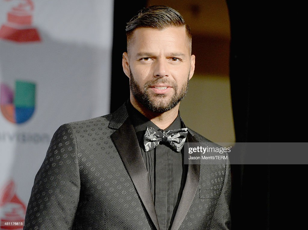 Musician Ricky Martin poses in the press room at the 14th Annual Latin GRAMMY Awards held at the Mandalay Bay Events Center on November 21, 2013 in Las Vegas, Nevada.