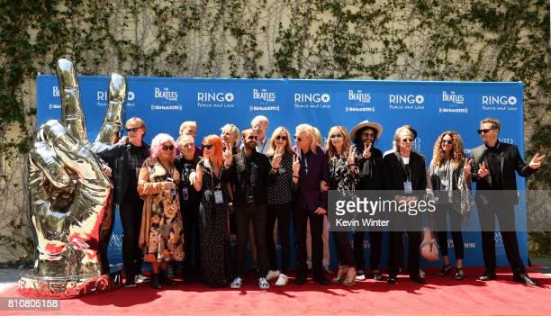 Musician Ringo Starr is joined by family and friends Zak Starkey, Barbara Bach, Joe Walsh, Marjorie Bach, Ed Bagley Jr, Don Was, Jenny Lewis, Jim...