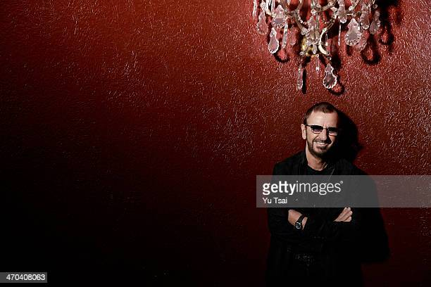 Musician Ringo Starr is photographed for Variety on January 19 2014 in Los Angeles California PUBLISHED IMAGE