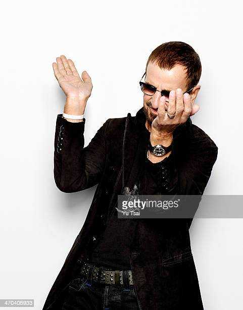 Musician Ringo Starr is photographed for Variety on January 19 2014 in Los Angeles California COVER IMAGE