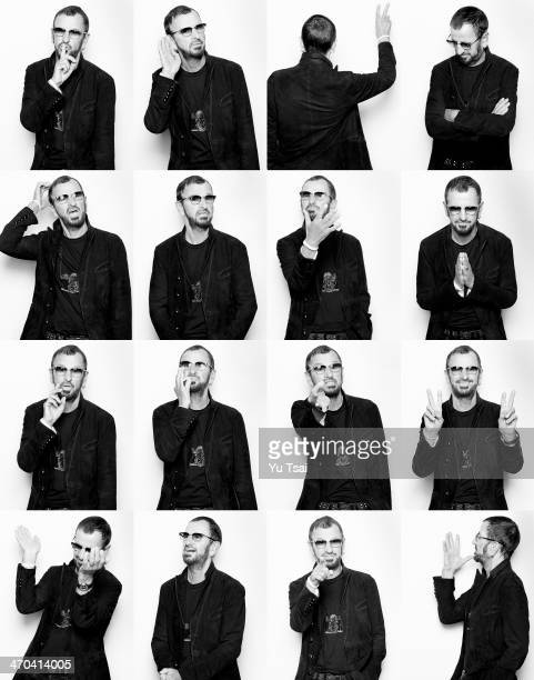 Musician Ringo Starr is photographed for Variety on January 19 2014 in Los Angeles California