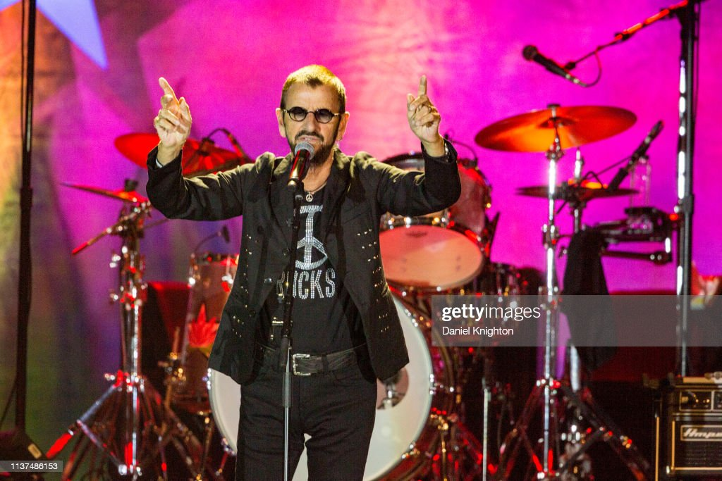 CA: Ringo Starr And His All Starr Band Perform At Harrah's Resort Southern California