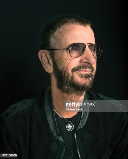 Musician Ringo Starr photographed for AARP The Magazine on April 1 in Los Angeles, California.
