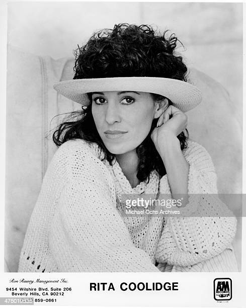 Musician Rita Coolidge poses for a portrait in circa 1983