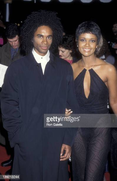 Musician Rob Pilatus of Milli Vanilli and Tonya Lee Williams attend 31st Annual NAACP Image Awards on February 12 2000 at the Pasadena Civic...