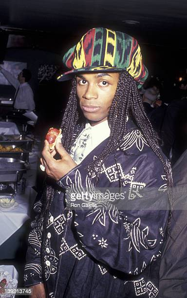 Musician Rob Pilatus of Milli Vanilli attends Essence Awards on April 30 1993 at Madison Square Garden in New York City