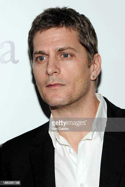 Musician Rob Thomas attend The Cinema Society with Linda Wells Allure Magazine premiere of Entertainment One's 'Diana' at SVA Theater on October 30...
