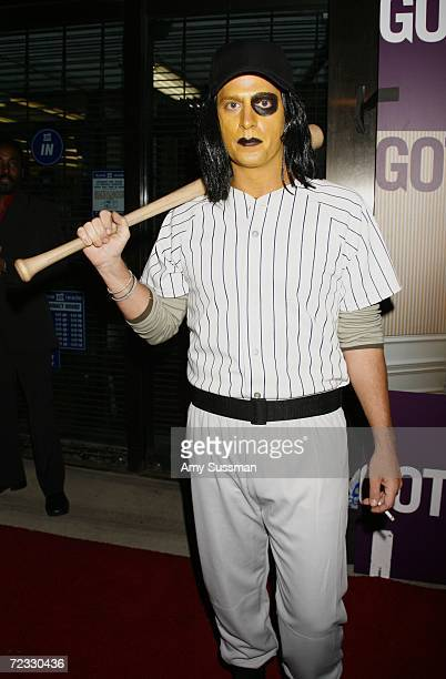 Musician Rob Thomas attends Gotham Magazines Halloween Costume Ball hosted by Rachel Weisz at The Grand October 31 2006 in New York City