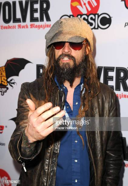 Musician Rob Zombie arrives at the 3rd Annual Revolver Golden God Awards at the Club Nokia on April 20 2011 in Los Angeles California