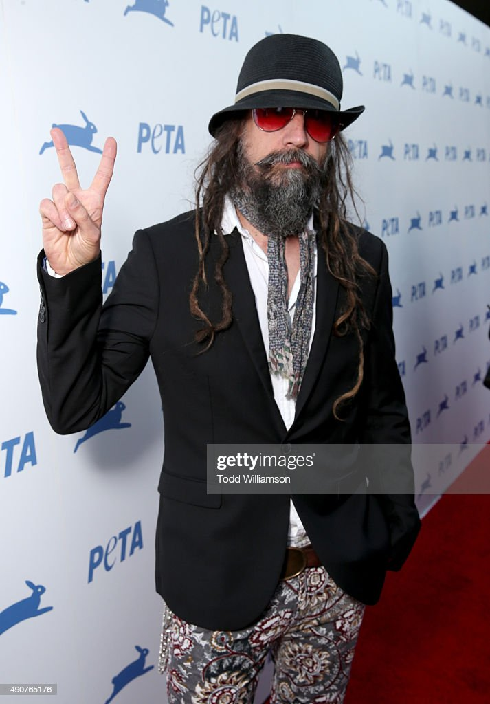 Musician Rob Zombie attends PETA's 35th Anniversary Party at Hollywood Palladium on September 30, 2015 in Los Angeles, California.
