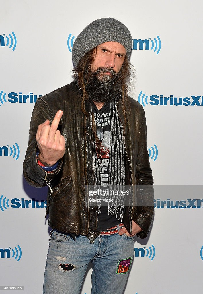 Musician Rob Zombie visits SiriusXM Studios on October 22, 2014 in New York City.