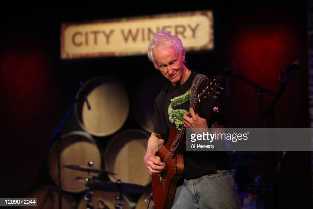 Musician Robbie Krieger performs in concert at City Winery on April 5, 2015 in New York City.