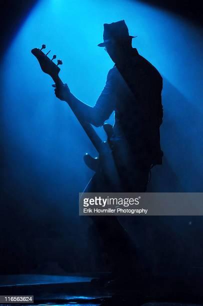 Musician Robert DeLeo in Blue