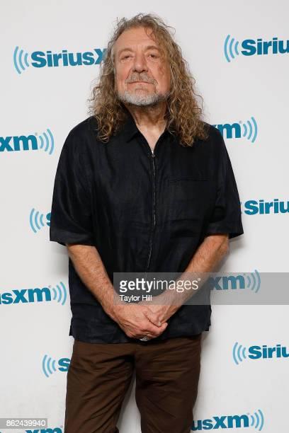 Musician Robert Plant visits the SiriusXM Studios on October 17 2017 in New York City