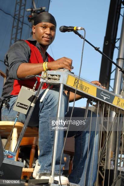 Musician Robert Randolph of Robert Randolph The Family Band performs during the Vegoose Music Festival 2007 at Sam Boyd Stadium on October 28 2007 in...