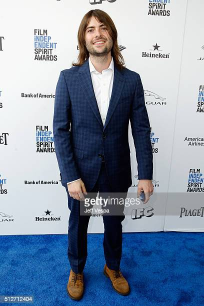 Musician Robert Schwartzman of Rooney attends the 2016 Film Independent Spirit Awards on February 27 2016 in Santa Monica California