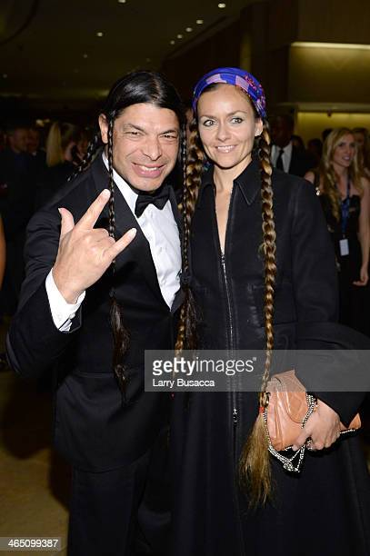 Musician Robert Trujillo and Chloe Trujillo attend the 56th annual GRAMMY Awards PreGRAMMY Gala and Salute to Industry Icons honoring Lucian Grainge...