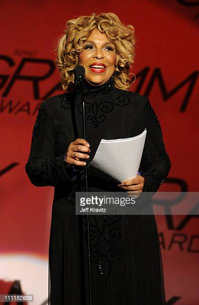 Musician Roberta Flack onstage during the 52nd Annual GRAMMY Awards pretelecast held at Staples Center on January 31 2010 in Los Angeles California