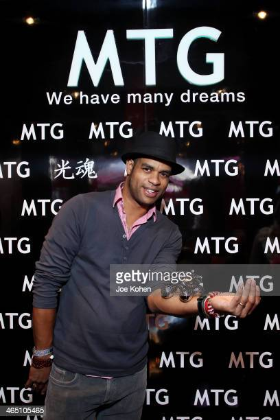 Musician Roberto Fonseca attends the GRAMMY Gift Lounge during the 56th Grammy Awards at Staples Center on January 25 2014 in Los Angeles California