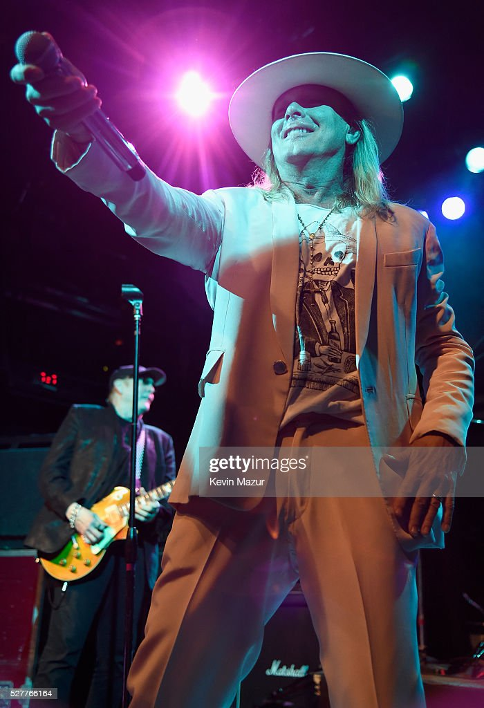 Musician Robin Zander of Cheap Trick performs onstage during the 2nd Annual National Concert Day presented by Live Nation at Irving Plaza on May 3, 2016 in New York City.