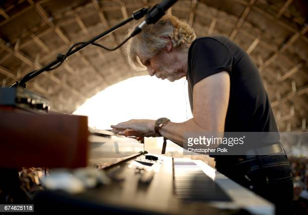 Musician Rod Argent of The Zombies performs on the Palomino stage during day 1 of 2017 Stagecoach California's Country Music Festival at the Empire...