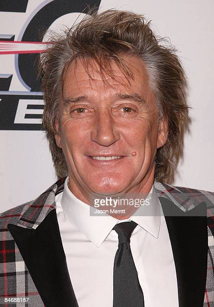 Musician Rod Stewart attends the 2009 GRAMMY Salute To Industry Icons honoring Clive Davis at the Beverly Hilton Hotel on February 7 2009 in Beverly...
