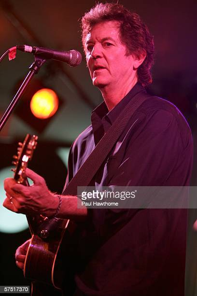 Musician Rodney Crowell performs at the Tribeca/ASCAP Music Lounge at Canal Room during the 5th Annual Tribeca Film Festival May 2, 2006 in New York...