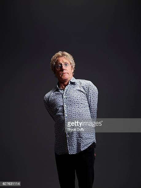 Musician Roger Daltrey is photographed for People Magazine on October 20 2011 in Los Angeles California