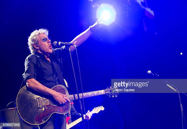 Musician Roger Daltrey of The Who performs at Sprint Center on April 29, 2016 in Kansas City, Missouri.