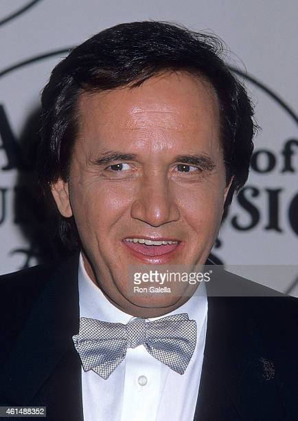 Musician Roger Miller attends the 23rd Annual Academy of Country Music Awards on March 21 1988 at the Good Time Theatre Knott's Berry Farm in Buena...