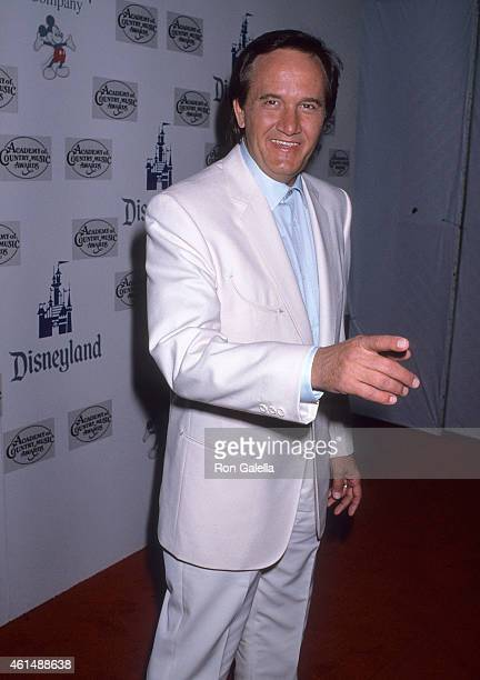 Musician Roger Miller attends the 24th Annual Academy of Country Music Awards on April 10 1989 at Walt Disney Studios in Burbank California
