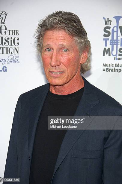 Musician Roger Waters arrives at VH1's Save The Music 10th Anniversary Gala at The Tent at Lincoln Center on September 20 2007 in New York City