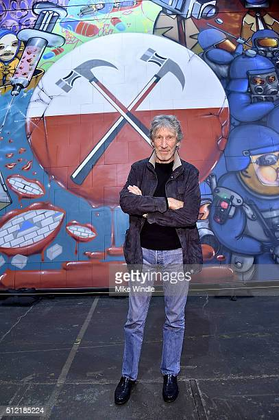 "Musician Roger Waters attends in celebration of the release of the Limited Edition box set of the film ""Roger Waters The Wall"", Roger Waters hosts..."